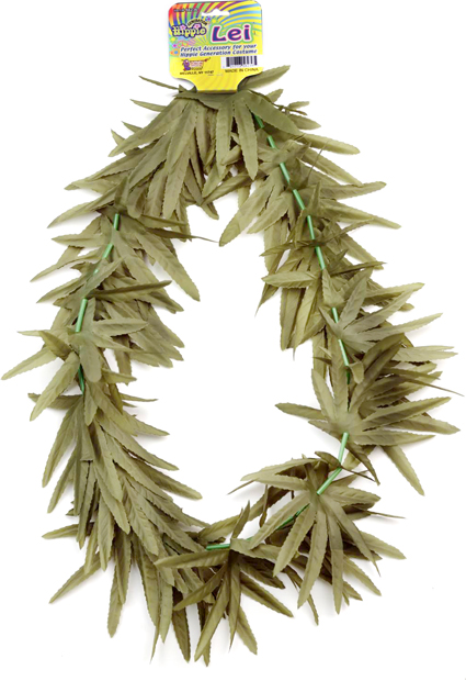Adult Marijuana Costume Lei