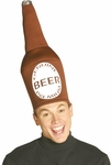 Adult Beer Bottle Hat