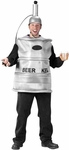Adult Keg of Beer Tap Costume