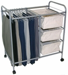 Rolling Pants Trolley With Drawers