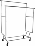 Salesmans Double Folding Rack