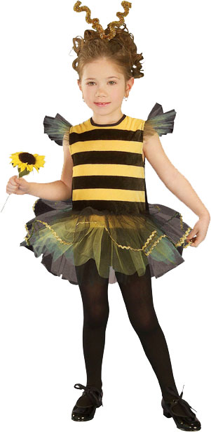 Toddler Bumble Bee Tutu Costume
