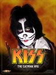 Kiss Catman Wig