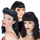 Adult Bettie Page Wigs