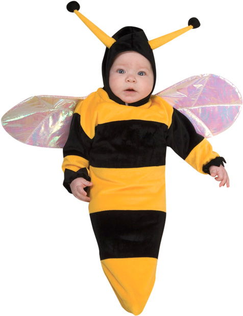 Baby Bunting Bumble Bee Costume