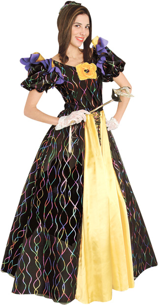 Mardi Gras Ball Queen Costume