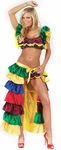 Adult Cuban Cha Cha Girl Costume