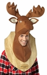 Moose Trophy Head Costume Hat