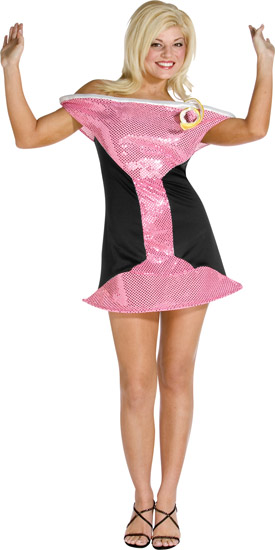 Pink Cosmo Drink Costume