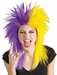Sports Fan Purple and Gold Wig