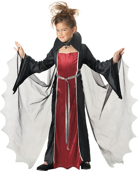 Child's Vampire Dress Costume