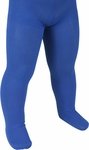 Child's Solid Blue Tights
