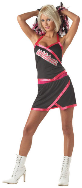 Sexy Pink Cheerleader Costume