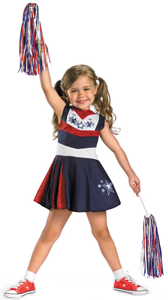 Child's Superstar Cheerleader Costume