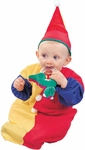 Baby Colorful Clown Costume