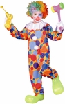 Child's Polka Dots Clown Costume