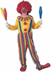 Child's Rainbow Clown Costume