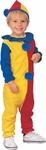 Toddler Colorful Clown Costume