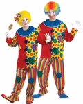 Traditional Big Top Clown Costume