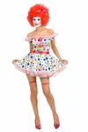 Women's Sexy Clown Costume