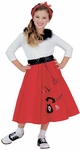 Child's Jitterbug Girl Costume