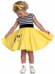 Toddler 50's Jukebox Dress Costume