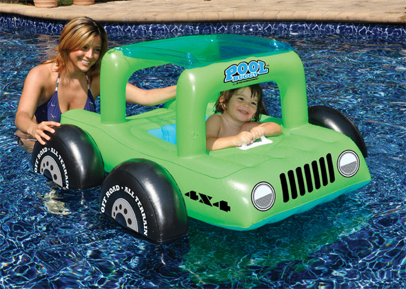 Pool Buggy Ride-On Float