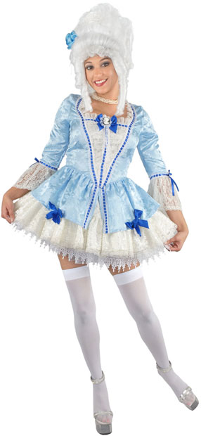 Blue Sexy Marie Antoinette Costume