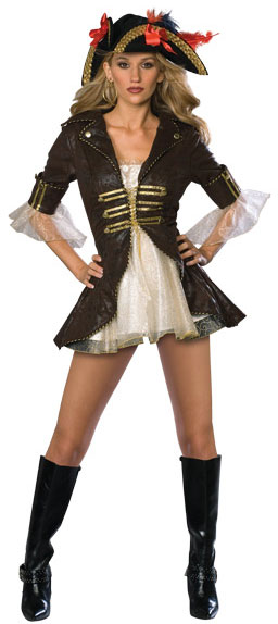 Adult Sexy Buccaneer Pirate Costume