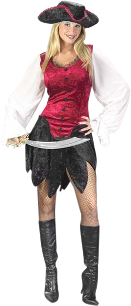 Sexy First Mate Pirate Costume