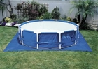 19' Square Pool Ground Cloth
