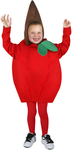 Child's Apple Costume