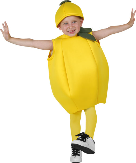 Child's Lemon Costume