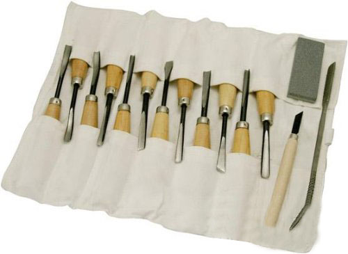 16 Piece Woodcarving Tool Set
