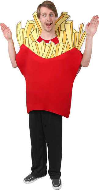 Adult French Fry Costume Best Men Costumes
