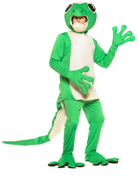 adult gecko lizard costume geico gecko costumes