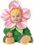 Baby Pink Flower Costume