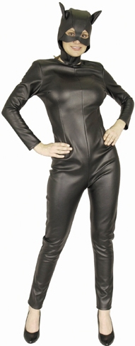 Adult Black Cat Suit Costume