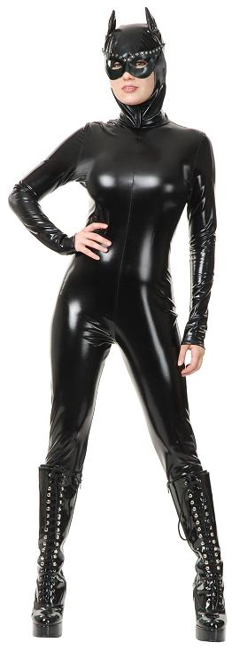 Adult Vinyl Cat Suit Costume