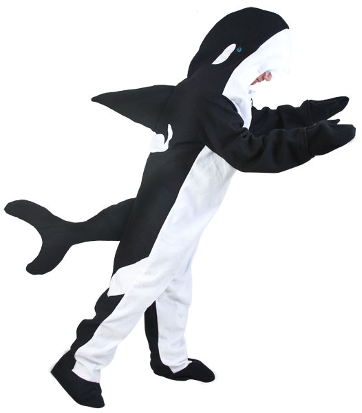 Adult Killer Whale Costume Killer Whale Costumes