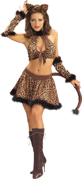 Adult Sexy Luscious Leopard Costume