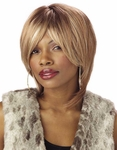 Blonde Unisex Rock Star Wig
