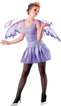 Adult Lavender Nymph Costume Wings