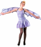 Adult Purple Nymph Costume Wings