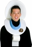 Adult Easy Toilet Seat Hat Costume