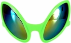 Adult Green Alien Glasses