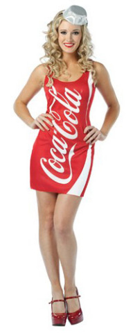 Womens Coca-Cola Tank Dress