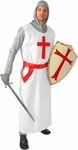 Adult Medieval Knights Templar Costume