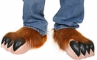 Child's Wolfman Costume Shoe Covers