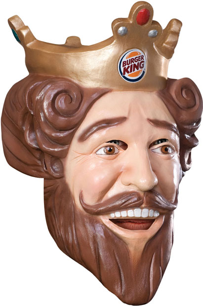 Burger King Costume Mask